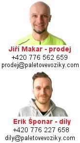 PaletovéVozíky.com - kontakty