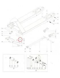 Listové pero na paletový vozík Jungheinrich