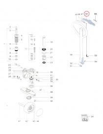 Ovládací páčka na paletový vozík Jungheinrich AM2200