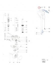Kulička ovládání na paletový vozík Jungheinrich AM2200