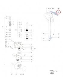 Čep ovládaní paletovacího vozíku Jungheinrich AM2200