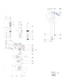 Pružný kolík na paletový vozík Jungheinrich AM22 a AM2200