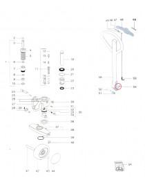Závlačka na paletový vozík Jungheinrich AM22 a AM2200