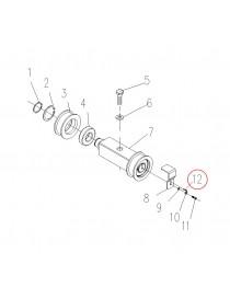 Pružný kolík na elektrický vysokozdvižný vozík CDD10R