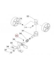 Maznice brzdy na paletový vozík AC