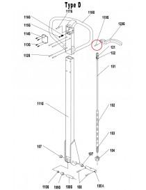 Kolík pro paletový vozík AC