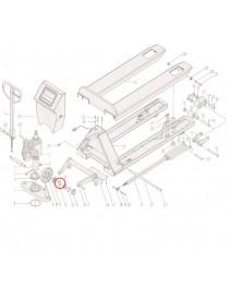 Šroub pro paletový vozík s váhou MV20