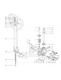 Díl ventilu na paletový vozík M25. Řada BFC6-III