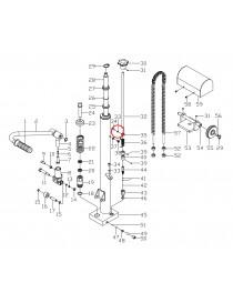 Podložka pro ruční vysokozdvižný vozík MFPJ