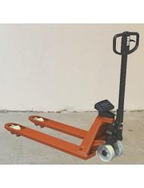 Paletový vozík s váhou BT