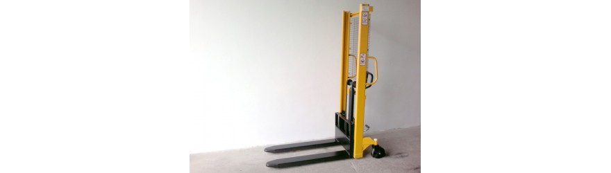 Ruční vysokozdvižné vozíky s výškou zdvihu nad 1000 mm.