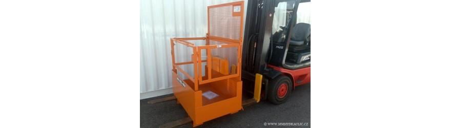 Montážní klece na vysokozdvižný vozík