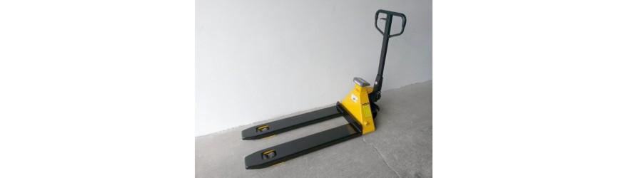 Paletové vozíky s váhou / tiskárnou