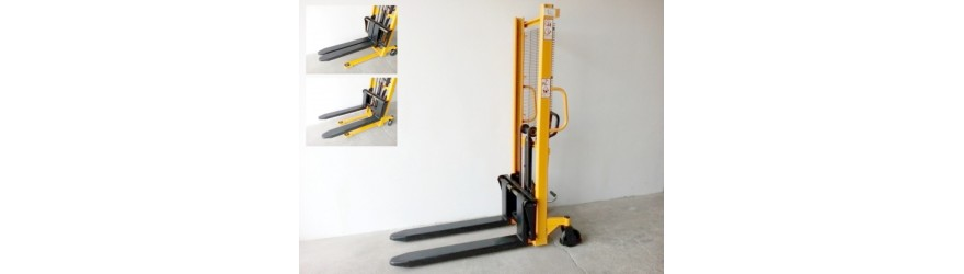 Vysokozdvižné vozíky se stavitelnými vidlicemi